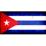 Flag of Republic of Cuba