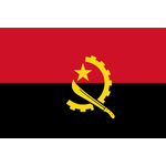Bandiera dell'Angola