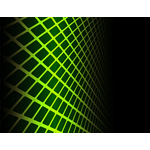 Abstract green grid