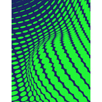 Green halftone pattern graphics
