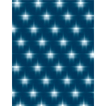 Blurry stars on blue background