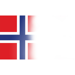 Norwegian flag presentation background