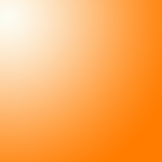 Orange and white gradient background