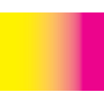 Pink and yellow gradient color
