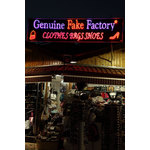 Shop with fake goods