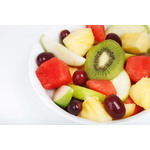 Fruit salad close up image