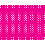 Pink background with polka dots