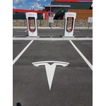 Tesla charging station photo