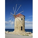 Wind generator in Rhodes