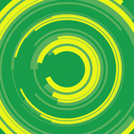 Green and yellow circles 2
