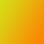 Yellow and orange color gradient
